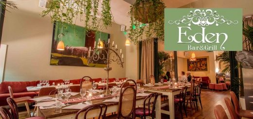 Brunch for 2 and Cocktail Each at Eden Bar & Grill on South William St €25