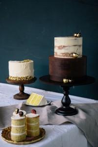 Naked Wedding Cake by Cove Cake Design