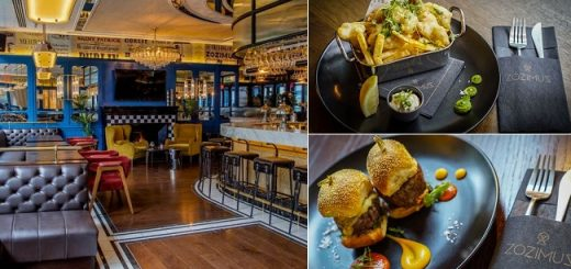 Enjoy a Exclusive Experience - 3 Course Meal for Two People and a Glass of Wine Each at Zozimus Bar for only €45