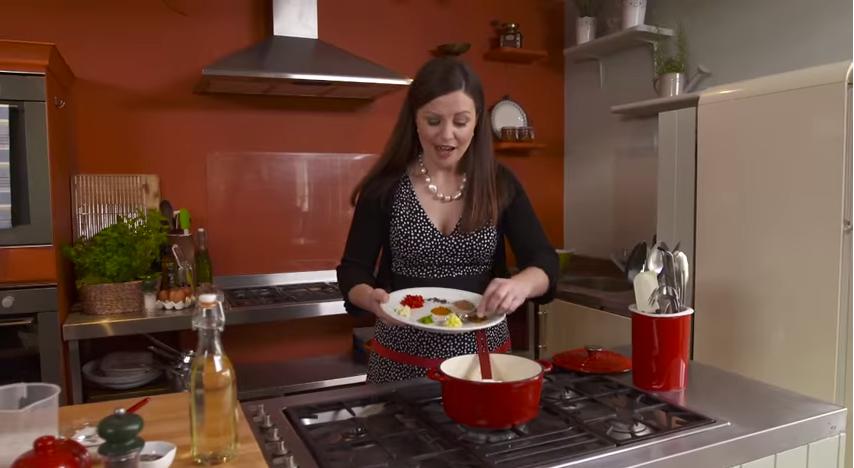 Catherine Fulvio cooks up Barbecued Lamb