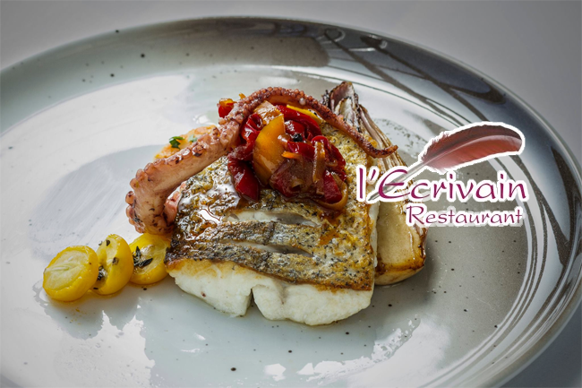 Win a €250 voucher for Michelin Star Restaurant l'Ecrivain - Closed