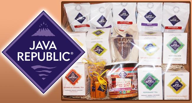 Win a Java Republic luxury hamper - Closed
