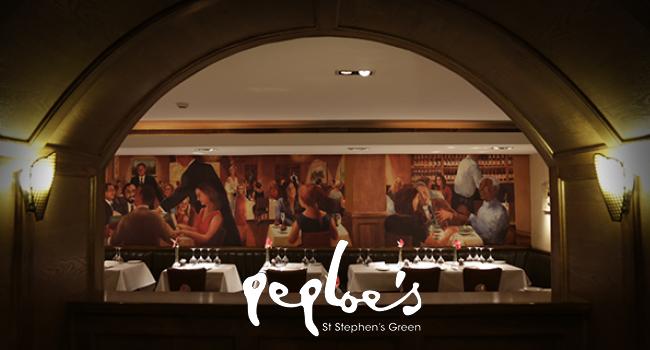 Peploe's A Dublin Stalwart of Chic Innovative Cuisine