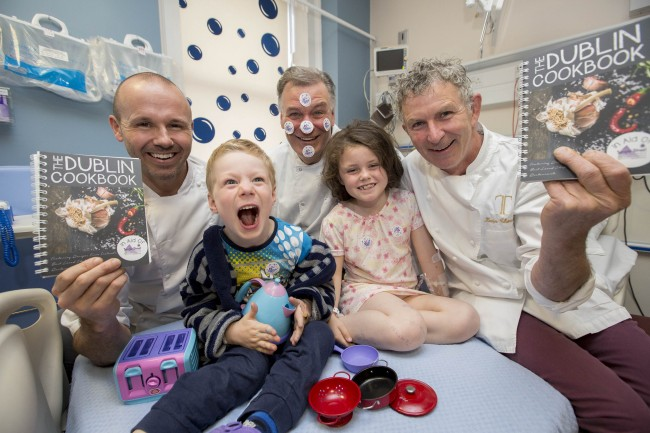Michelin Star Chefs Launch The Dublin Cookbook in Aid of Temple St Hospital