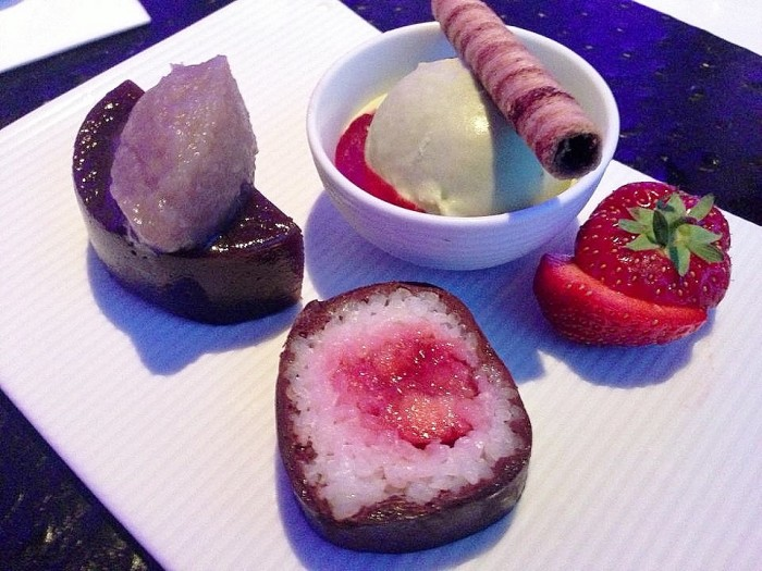 Raw Sushi in the Sky Dessert taste.ie