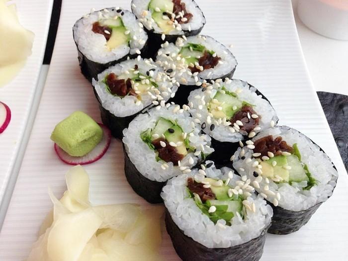 Raw Sushi in the Sky