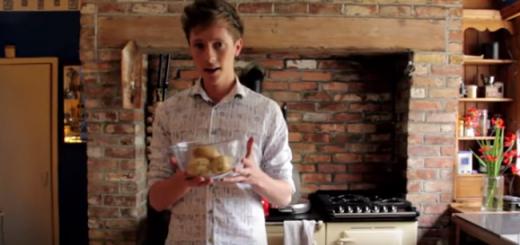 Chef Adrian's Hassleback Potatoes
