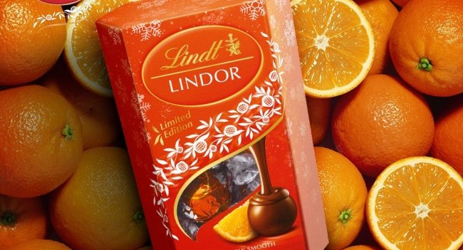 Lindor Milk Orange Arrives in Ireland