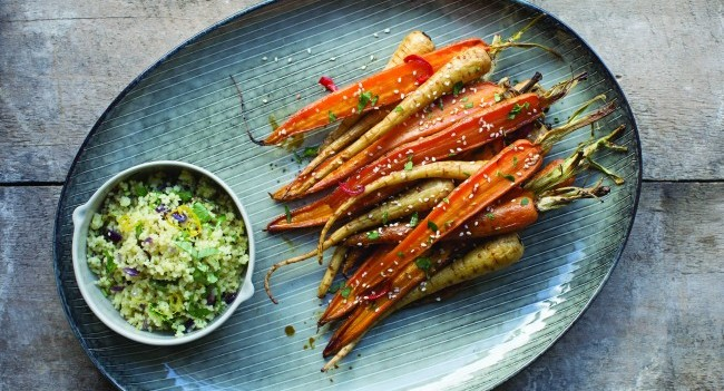 Spicy Roasted Root Vegetables Couscous | Recipe by Neven Maguire ...