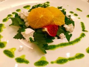 Kelly's Resort Salad of baked Fig