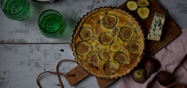 Jette Virdi Crozier Cheese and Fig Tart