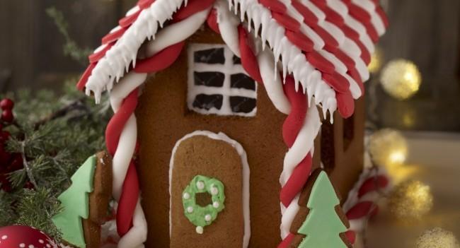 Louise Lennox Gingerbread House