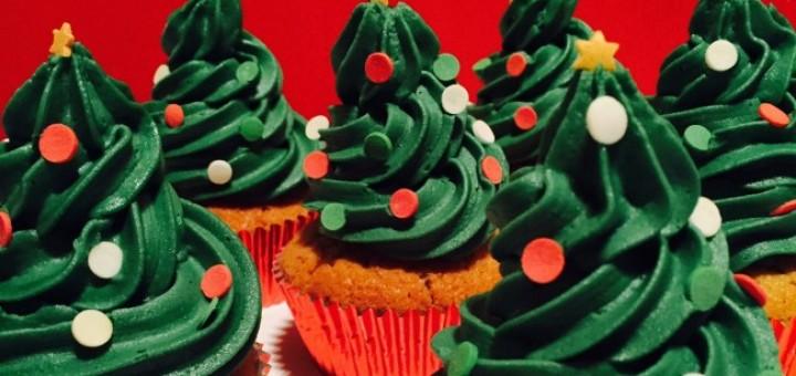 Siucra Christmas Tree Cupcakes