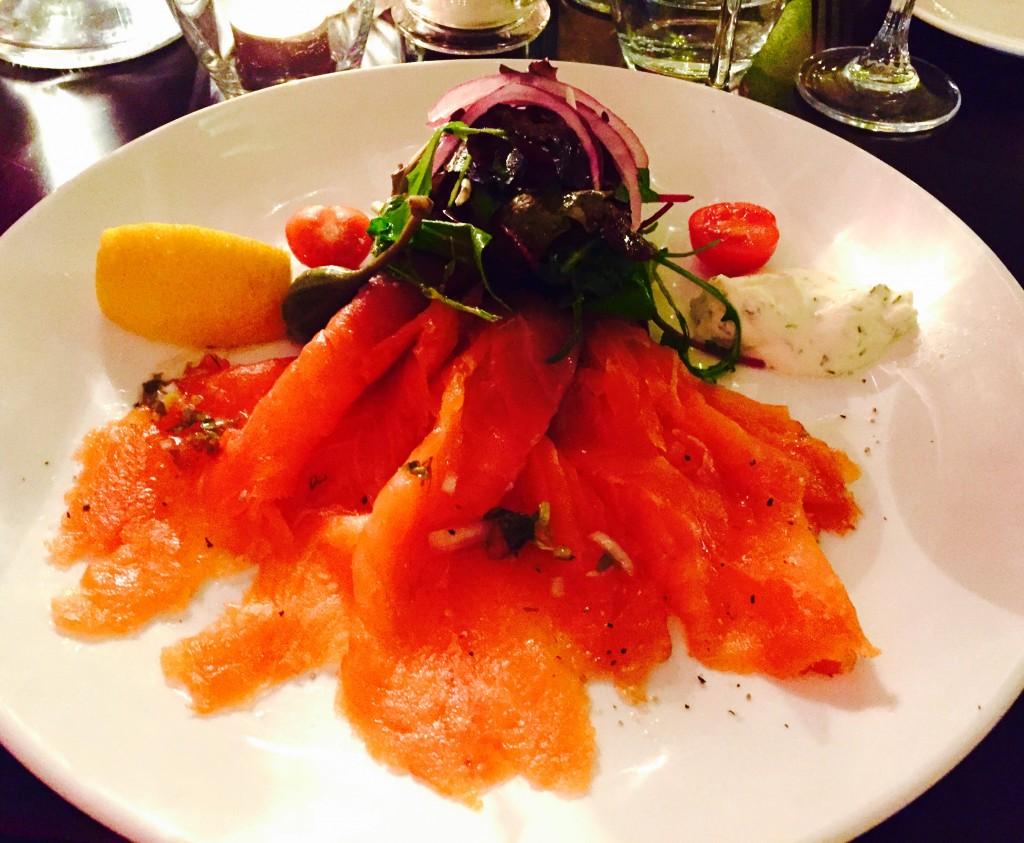 The Seafood Bar Dawson St Smoked Salmon