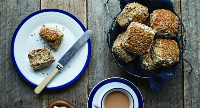 Neven flaxseed scone