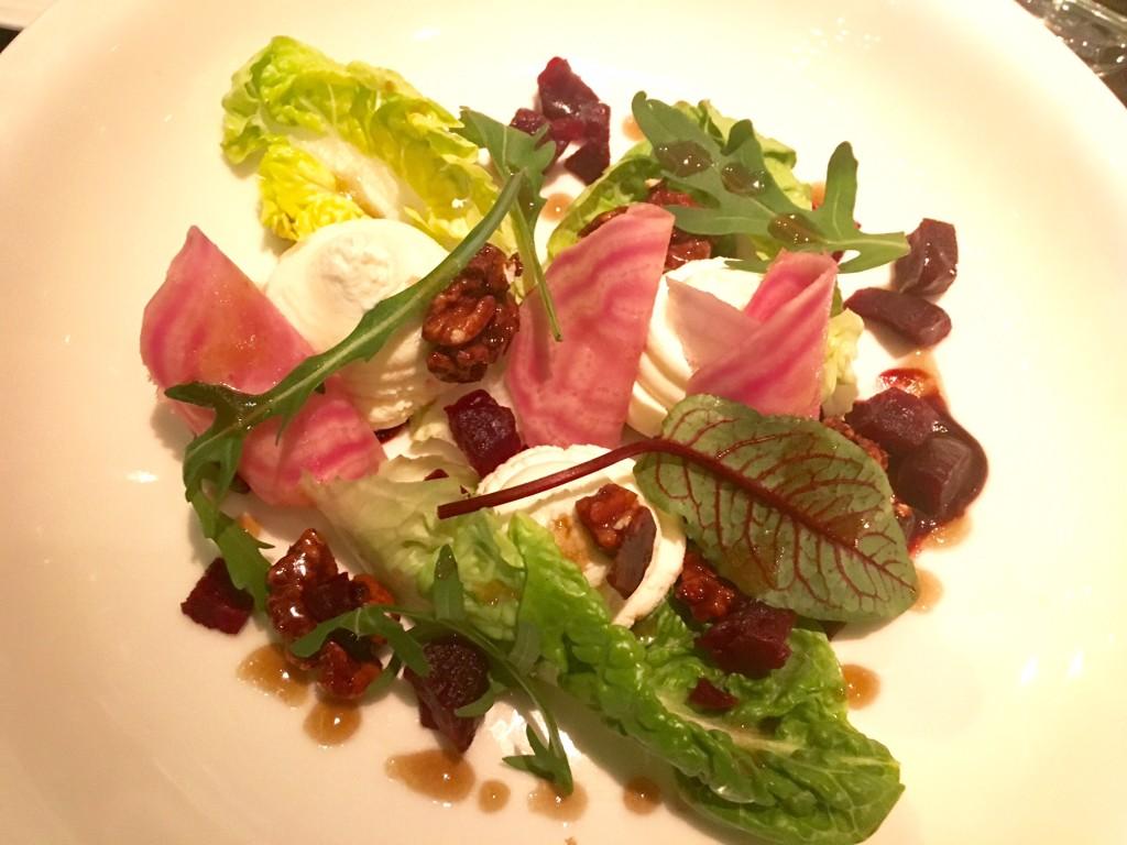 Richmond Beets & Goats Cheese Salad