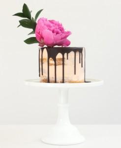 Chocolate drip cake by Cove Cake Design