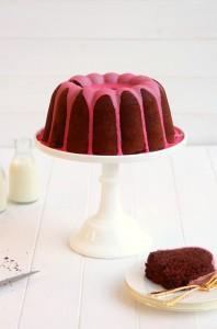 Dark Chocolate Tonka Bundt Cake by Cove Cake Design