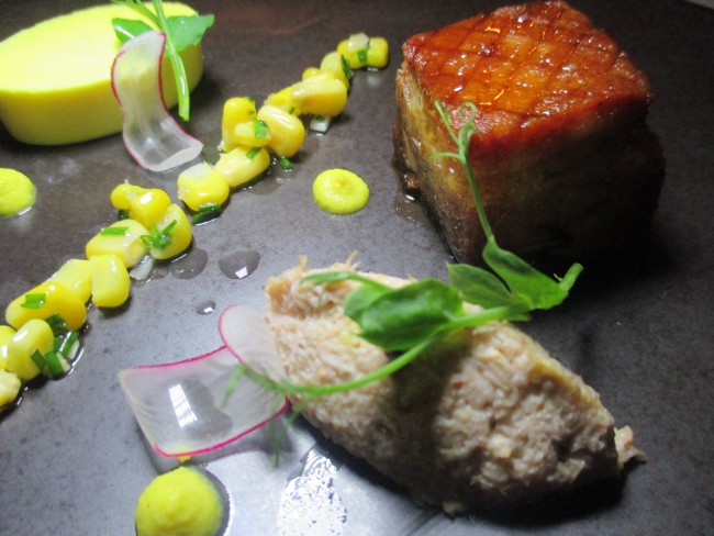 Farenheit Clontarf Castle Pork Belly