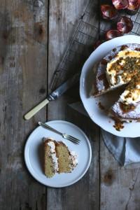Jette Virdi Passion Fruit Sponge Cake