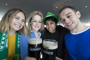 Guinness Storehouse St Patricks Day