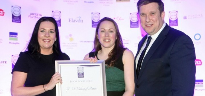 Top Restaurants in Connaught Announced at the Irish Restaurant Awards 2016