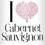 I Heart Cabernet Sauvignon