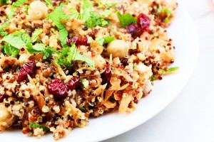 Allspice Dressed Carrot, Quinoa and Chickpea Salad Goodfood Goddess