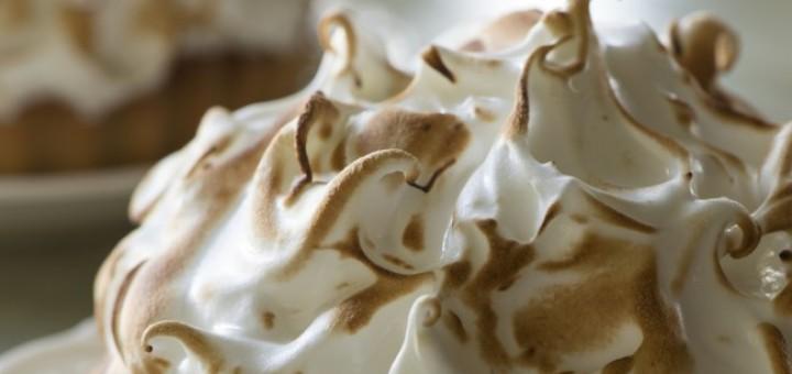 Shane Smith Rhubarb meringue tart
