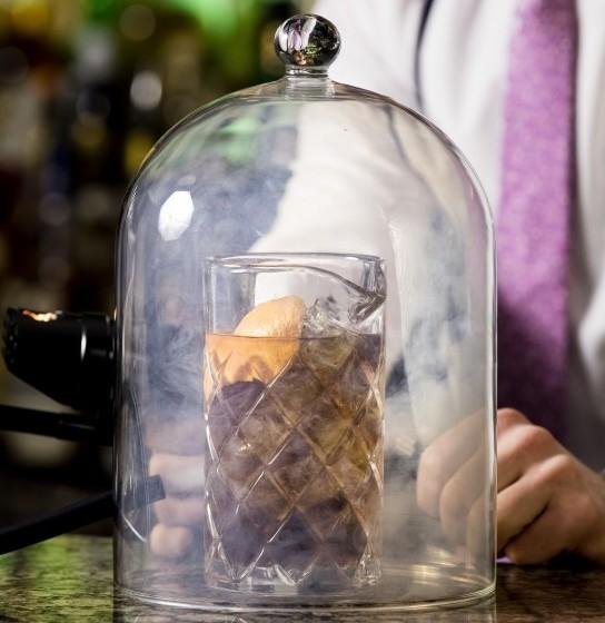 Smokin' Old Fashion The Mint Bar