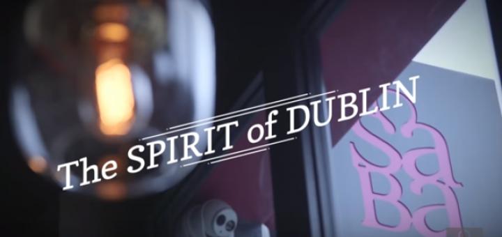Spirit of Dublin Cocktail by Karim in Saba Baggot Street