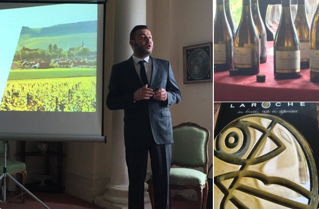 Domaine Laroche Chablis at the French Residence to Celebrate Award-Winning Students