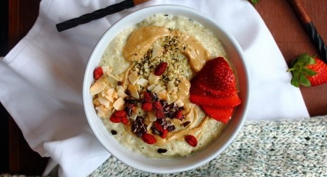 Hemp Porridge Recipe by Peachy Palate