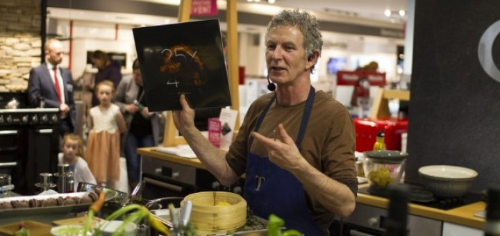 Kevin Thornton at Bauknecht Cooking Demonstration in Arnotts 7