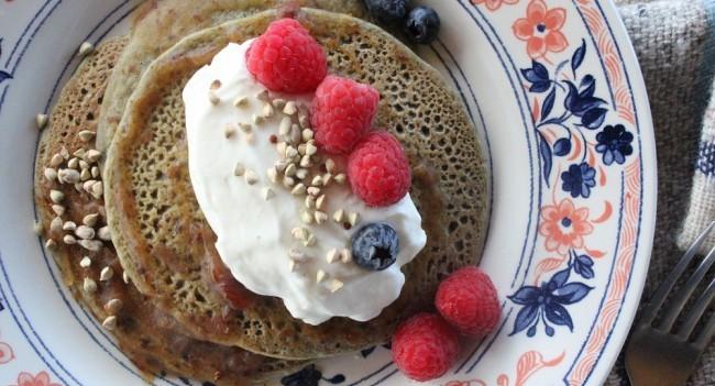 Spirulina Pancakes
