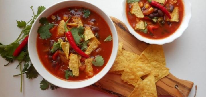 tortilla soup recipe Anna Jane Kingston