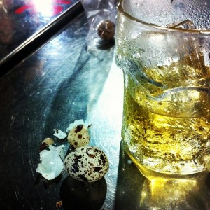 Beer and Quail Egg Vietnam