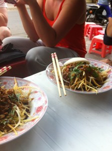 Papaya Salad Vietnamese Street Food