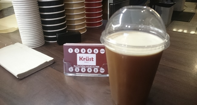 Krust Bakery Dublin Drinks Coffee