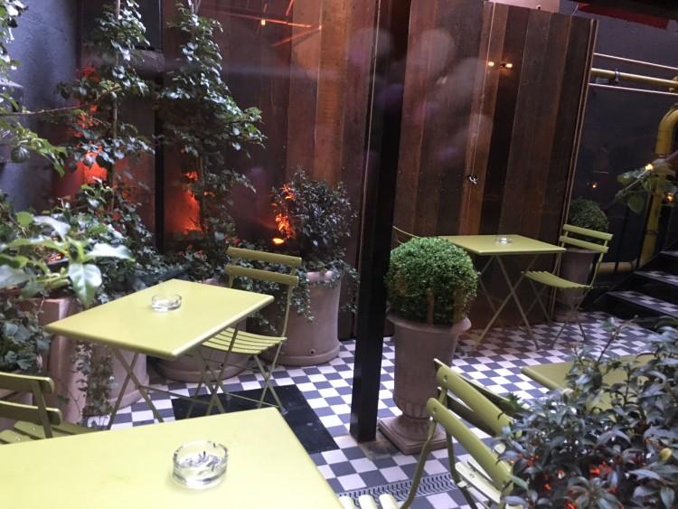 La Cucina Farrier & Draper Outdoor Terrace