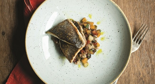 Sea bass recipe by JP McMahon