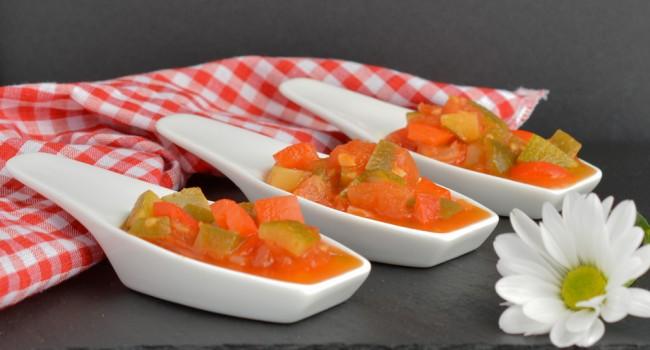 Pisto Manchego tapa recipe by Tasty Mediterraneo