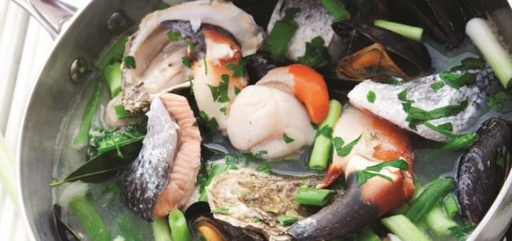 Seafood coddle