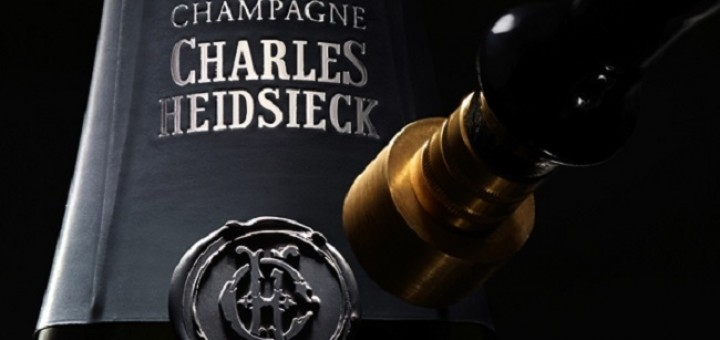 Champagne dinner with Charles Heidsiek at Forest Avenue
