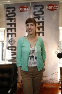 Tattoo Artist Cally-Jo Portrayed Hope at Kenco's Coffee Vs. Gangs Campaing Launch