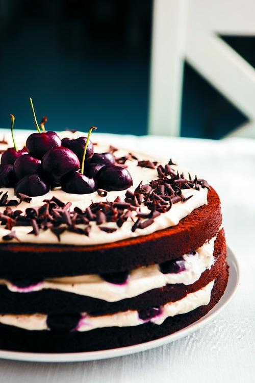 Denise's Delicious Black Forest gateau