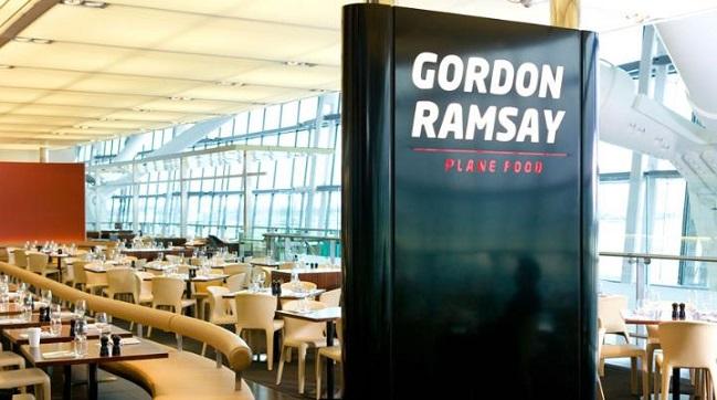 Plane Food by Gordon Ramsay Heathrow London