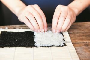 Temaki Hand Roll Sushi Recipe by Fiona Uyema B