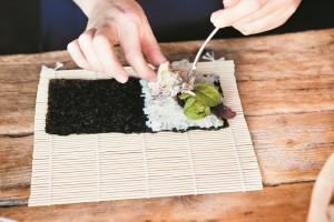 Temaki Hand Roll Sushi Recipe by Fiona Uyema C