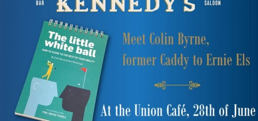 Q&A with Golf Hero Colin Byrne at Union Café this 28th of June
